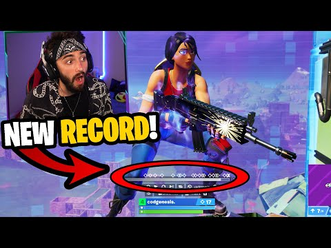 I Spectated The Best Player In My Customs Set A New Kill Record... (he's A God!)