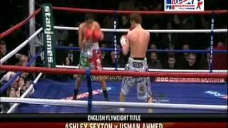 Ashley Sexton V Usman Ahmed