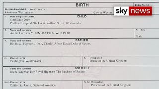 Duchess of  Sussex gave birth in private hospital