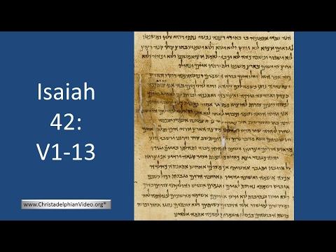 Isaiah 42 1-13 Study