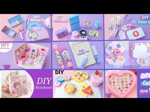 EASY CRAFT IDEAS | School Craft Idea/ DIY Craft/ School hacks/ Origami craft/paper mini gift idea