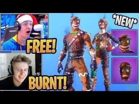 New Og Merry Marauder Ginger Gunner Skin Styles Burned Back