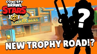 Brawl Stars: Brawl Talk! New Trophy Road, New Box, and MORE!? - Concept Edit!