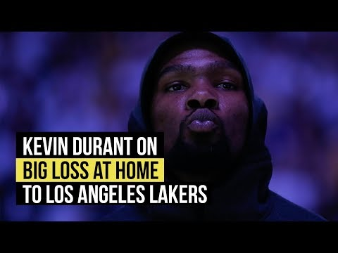 Warriors' Kevin Durant on big loss Lakers on Christmas Day