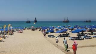 Пляж Клеопатры в г. Аланья (Турция)