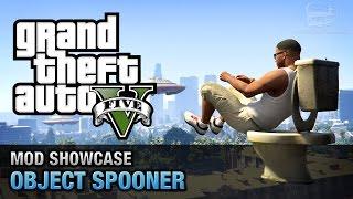 GTA 5 PC - Object Spooner [Mod Showcase]