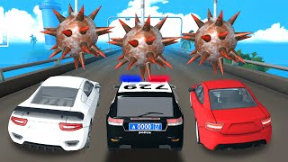 DEADLY RACE #22 Police Car, Sport Bumps Challenge 3D Gameplay Android IOS