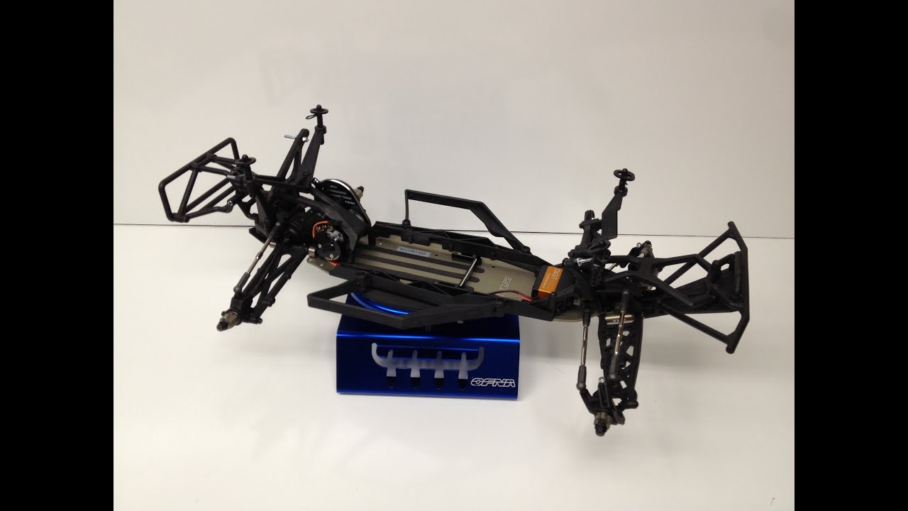 The RCNetwork TLR22 SCT Build Update 3
