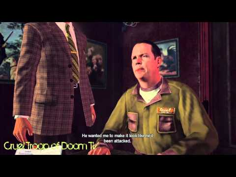 L.A. Noire: Perfect Interrogation - Frank Morgan at Cavanagh's [The Driver's Seat Case]