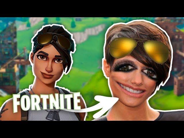 FORTNITE EN LA VIDA REAL (Photoshop)