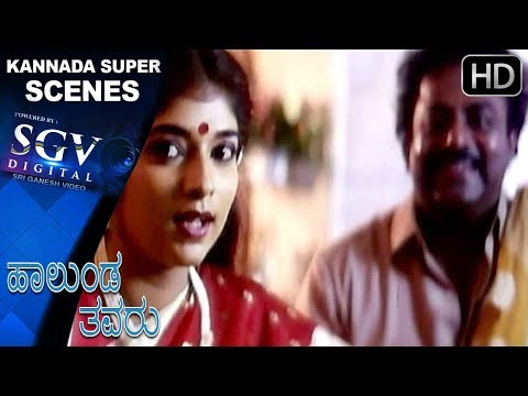 Sithara Meets His Brother Scenes   Hallunda Thavaru Kannada Movie   Kannada Scenes  Dr.Vishnuvardhan
