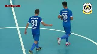 Париматч Чемпионат России Мини футбол 1 4 финала Динамо Самара Тюмень 3 игра