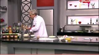 برنامج المطبخ – طريقة عجينة الميلفيه – الشيف يسري خميس – Al-matbkh