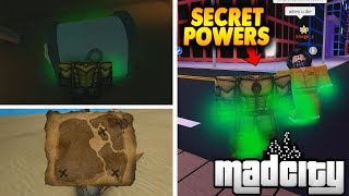 [CODE] HOW TO GET TREASURE MAP & NEW POWER IN MAD CITY | Roblox Mad City Dutchman Powers | iBeMaine