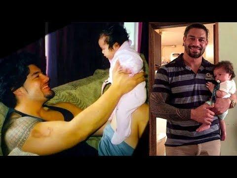 WWE Superstars Rare Family Photos   Roman Reigns, Seth, & Dean Ambrose