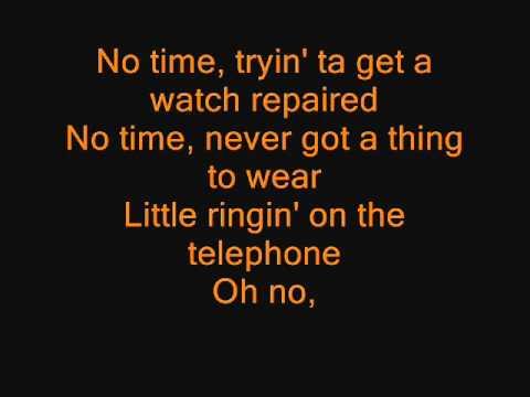 Anthrax - Got The Time (LYRICS)