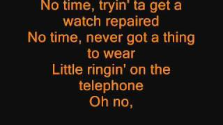 Anthrax Got The Time LYRICS
