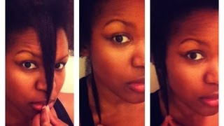 Natural Hair|Castor Oil Challenge/Length Check