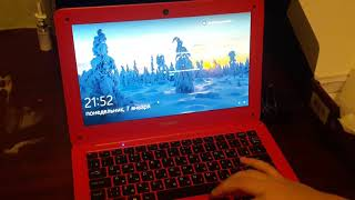 Огляд ноутбука IRBIS Red Червоний