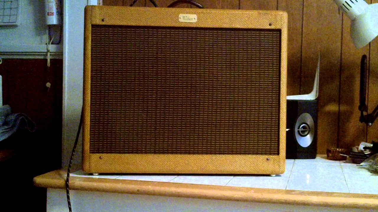 Curt's Weber 6A14HP amp (Part 2) by jonnyquestjosh