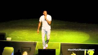 "Battioke 2014 - LeBron James with Michael Beasley sing ""Back That Azz Up"" by Juvenile"