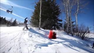 крутой зимний спорт!