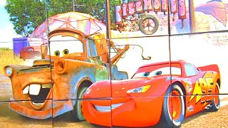 Пазлы Тачки. Молния Маккуин. Cars puzzles. Lightning McQueen Puzzle | Safiya Show for KIds