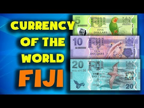 Currency Of The World - Fiji. Fijian Dollar. Exchange Rates Fiji. Fijian Banknotes And  Fijian Coins