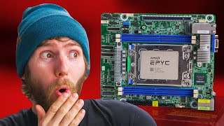 "This PC Used To Be IMPOSSIBLE! - EPYC ""ITX"" Build"