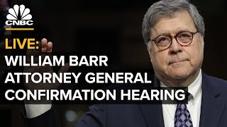 Attorney General nominee William Barr's confirmation hearing – Jan. 16, 2019