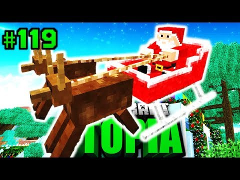 WEIHNACHTSMANN in UTOPIA?! - Minecraft Utopia #119 [Deutsch/HD]