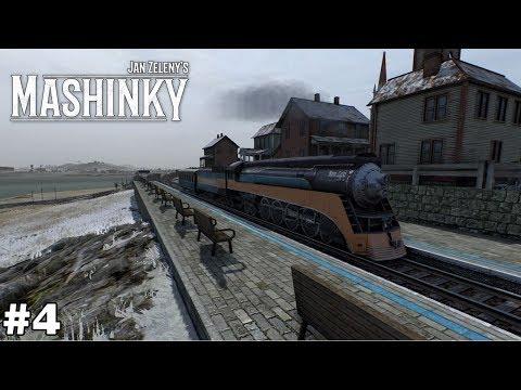 High Speed Locomotive - The GS-2 - Mashinky [ep4]