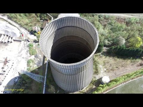 IM Cooling Tower - Belgium - Charleroi - Drone - Urbex - Urban Exploration