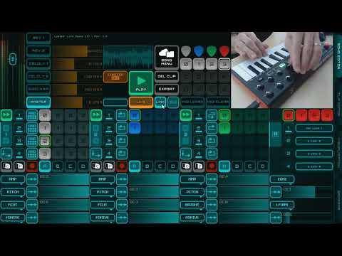 Space by Martin Linda (Rytmik Studio Live Demo Session) |