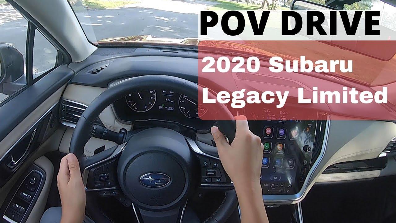 2020 Subaru Legacy 2 4l Turbo Pov City Test Drive Youtube
