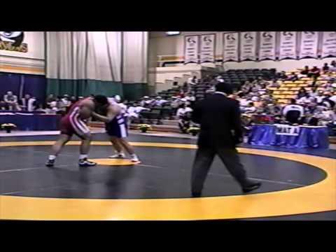 2002 World University Championships: 120 kg GR Final Alireza Gharibi (IRI) vs. Ren Li (CHN)