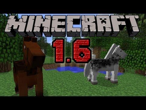 Minecraft 1.6.2 [ PL ] Konie, Smycze, Dywany, Bloki Siana, Nowe Textury ...