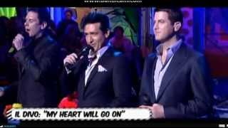 Video My Heart Will Go On (Il mio cuore va) Il Divo