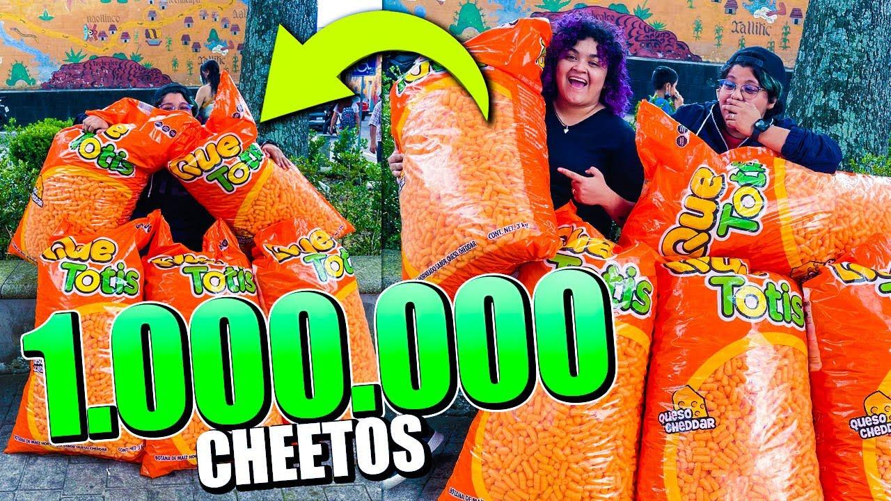 MINECRAFT PERO SI MUERO COMPRO 1,000,000 MILLON DE CHEETOS A MI MEJOR AMIGA 😱🟠 | Pathofail