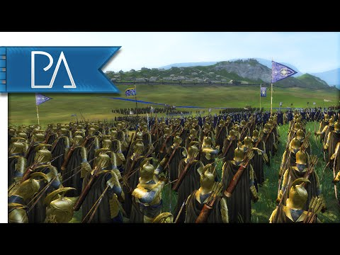 SIEGE OF EPIC PROPORTIONS - Third Age Total War Gameplay