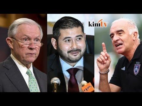 Peguam Negara AS 'petik' 1MDB, TMJ cabar Gomez ke mahkamah - Sekilas Fakta, 5 Dis 2017