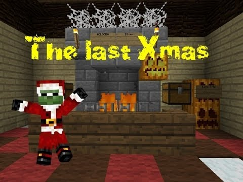 Minecraft PE: Christmas map/The last Xmas - YouTube