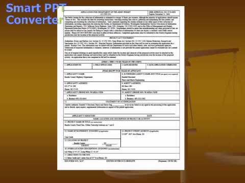 Corp Pipe Application South Dakota