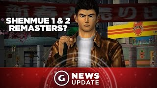 Sega Investigating Shenmue 1 and 2 HD Remasters - GS News Update