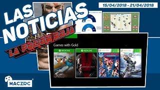 NOTICIAS Y ACTUALIDAD | Los Juegos Gold de Xbox / Kingdom Hearts 3 y las Game & Watch de Nintendo
