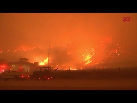 Kebakaran California Tampak Seperti 'Kiamat' Mp3