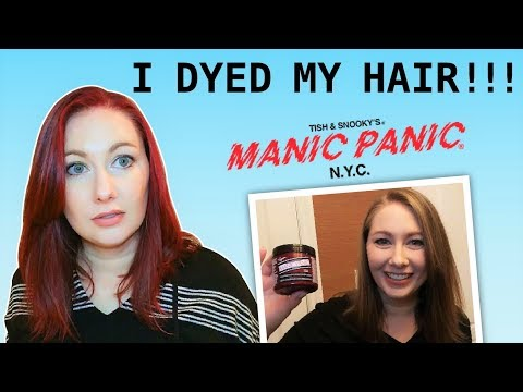 I Dyed My Hair with Manic Panic - Pillarbox Red