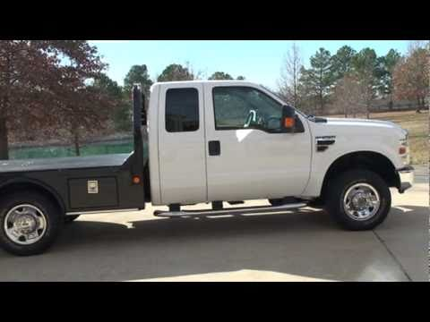 F250 Flatbed For Sale >> 2008 FORD F 250 XLT 4X4 POWER STROKE DIESEL 6 4L XLT FLAT BED FOR SALE SEE WWW SUNSETMILAN COM ...