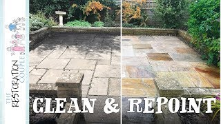 RESTORING AN OLD PATIO