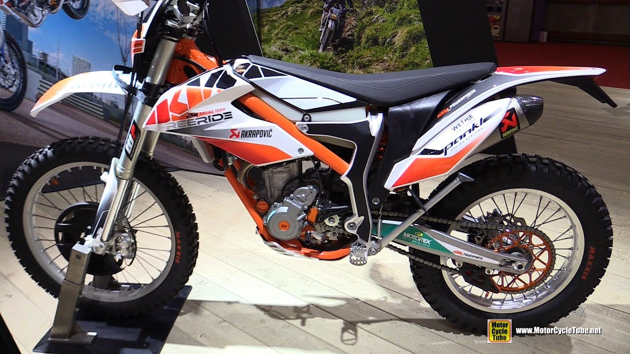 2016 ktm freeride 350 walkaround 2015 salon de la moto paris youtube. Black Bedroom Furniture Sets. Home Design Ideas